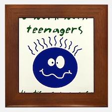 teenagers.png Framed Tile