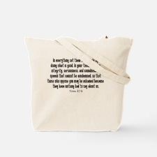 teach titus 2.png Tote Bag