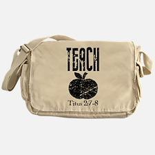 teach titus 2.png Messenger Bag