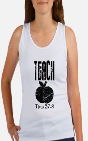 teach titus 2.png Tank Top