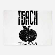 teach titus 2.png 5'x7'Area Rug