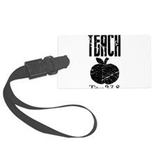 teach titus 2.png Luggage Tag