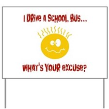 school bus driver.png Yard Sign