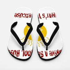 school bus driver.png Flip Flops