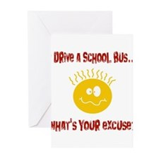school bus driver.png Greeting Cards (Pk of 20)