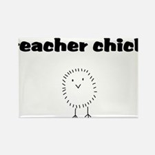 teacherchick.png Rectangle Magnet