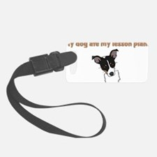 dog ate my lesson plan.png Luggage Tag