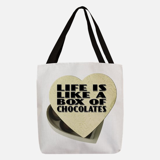 Box Of Chocolates Polyester Tote Bag