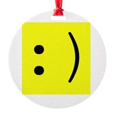 geek smiley.png Ornament