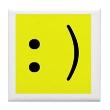 geek smiley.png Tile Coaster