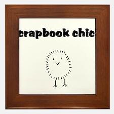 scrapbookchick.png Framed Tile