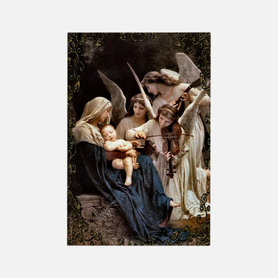 Song of the Angels Rectangle Magnet