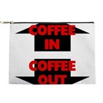 Coffee In Coffee Out Makeup Pouch
