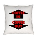 Coffee In Coffee Out Everyday Pillow