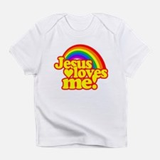 Jesus Loves Me Rainbow Infant T-Shirt