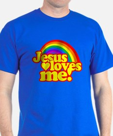 Jesus Loves Me Rainbow T-Shirt