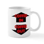 Coffee In Coffee Out 11 oz Ceramic Mug