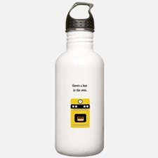 bun in the oven yellow.png Water Bottle