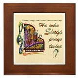 Sing tile Framed Tiles
