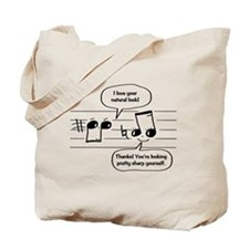 Natural Sharp look Tote Bag