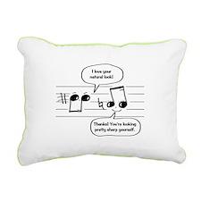 Natural Sharp look Rectangular Canvas Pillow