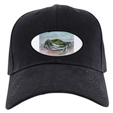blue crab acrylic painting Baseball Hat