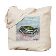 blue crab acrylic painting Tote Bag