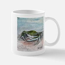 blue crab acrylic painting Mug