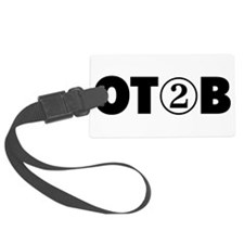 OT 2 B (BLACK) Luggage Tag