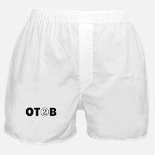 OT 2 B (BLACK) Boxer Shorts