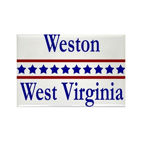 Weston WV Rectangle Magnet