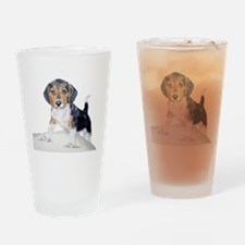 Bagel the Beagle Drinking Glass