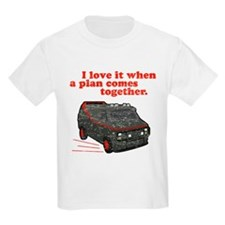 A-Team van & quote Ash Grey T-Shirt