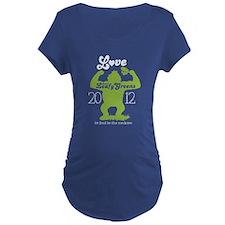 NEW love them leafy greens Maternity T-Shirt