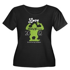 NEW love them leafy greens Plus Size T-Shirt