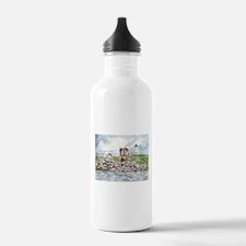 cape neddick lighthouse Water Bottle