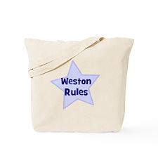 Weston Rules Tote Bag