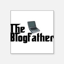 "The Blogfather Square Sticker 3"" x 3"""