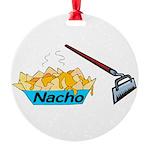 Nacho Hoe Round Ornament
