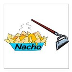 Nacho Hoe Square Car Magnet 3