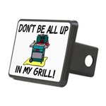 All Up In My Grill Rectangular Hitch Cover