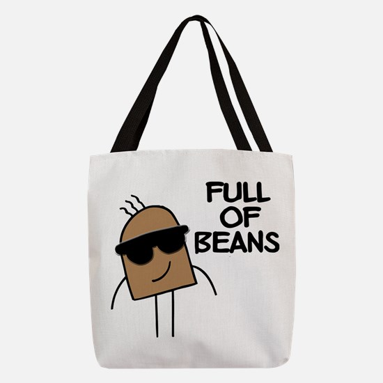 FIN-full-of-beans.png Polyester Tote Bag