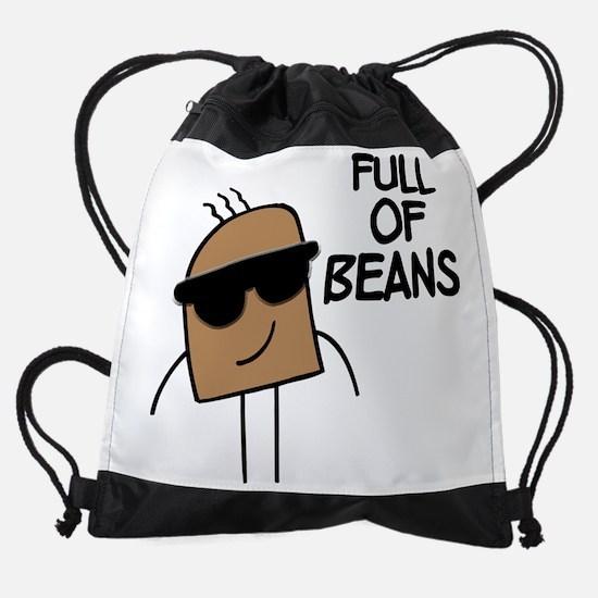 FIN-full-of-beans.png Drawstring Bag