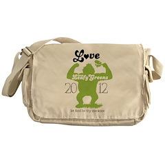 Love them Leafy Greens Messenger Bag
