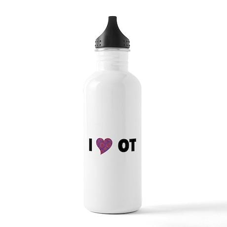 I HEART OT Water Bottle