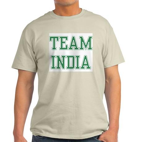 TEAM INDIA Ash Grey T-Shirt
