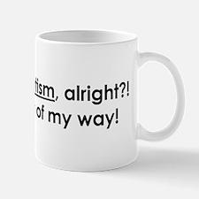 Cool Aspie humor Mug
