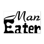 Man Eater Rectangle Car Magnet