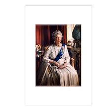 Her Majesty's Portrait DBWF Postcards (Pack of 8)