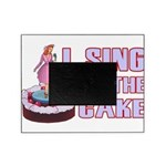 I Sing On The Cake Picture Frame